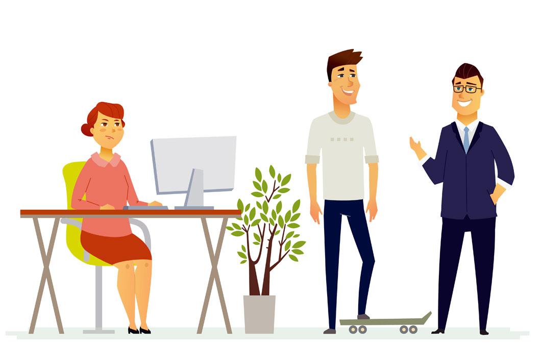 Mitarbeiter Beziehung zu Vorgesetzten