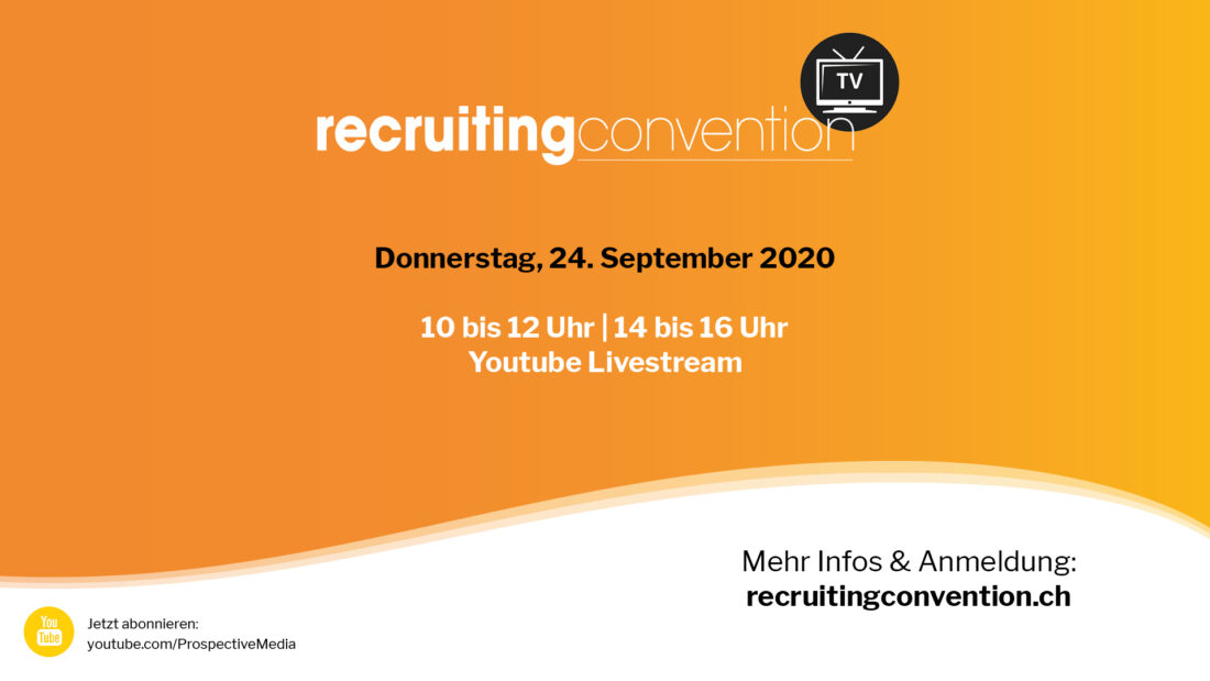 recruitingconvention zurich 2020 von Prospective