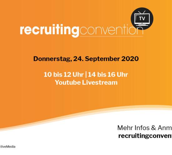 recruitingconvention zurich 2020 von Prospective