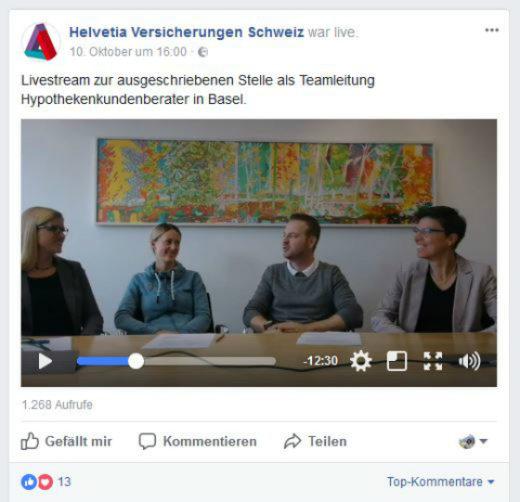 Livestream_Recruiting_Helvetia