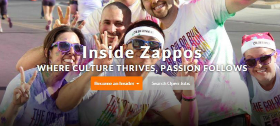 Zappos Employment Jobs